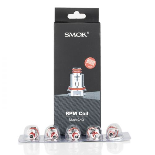 smok rpm replacement coils .4ohm mesh coils