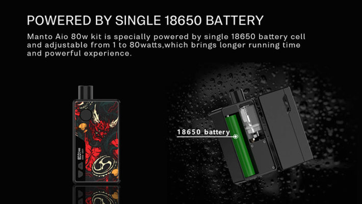 Rincoe Manto Kit Battery