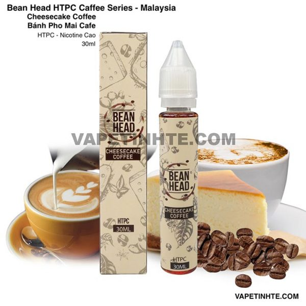 Bean Head Cheesecake Coffee HTPC 30ml Bánh Pho Mai Cafe