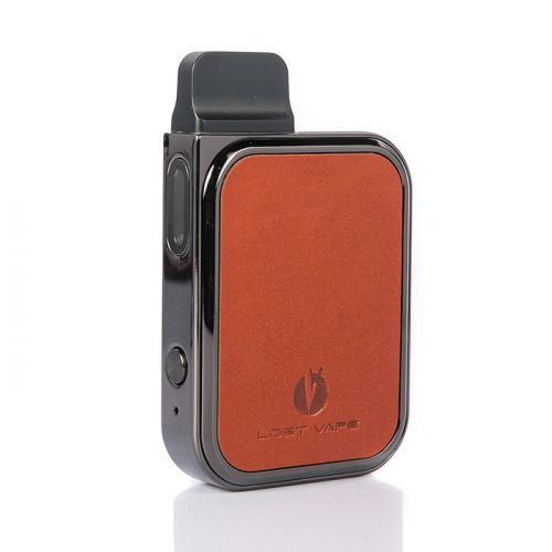 Lost Vape Prana Pod Kit Leather brown