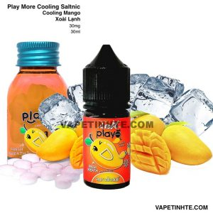 Play Saltnic (Xoài lạnh) Cooling Mango Play More 30mg 30ml