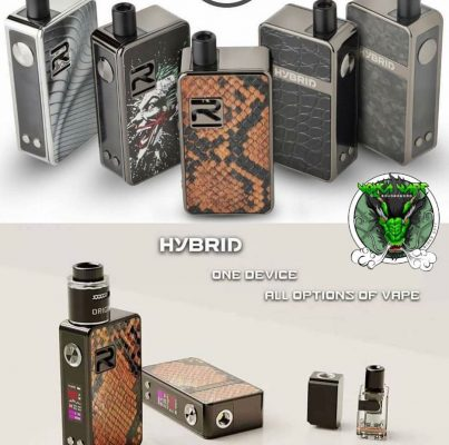 R-Vape Hybrid 80w Pod Kit view 1