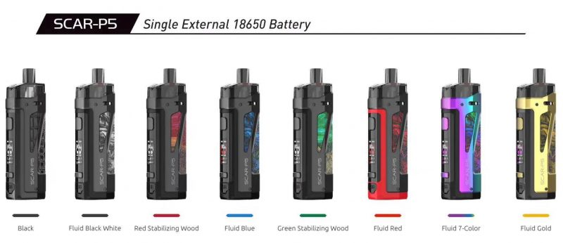 Smok Scar-P5 80w Pod Kit full color