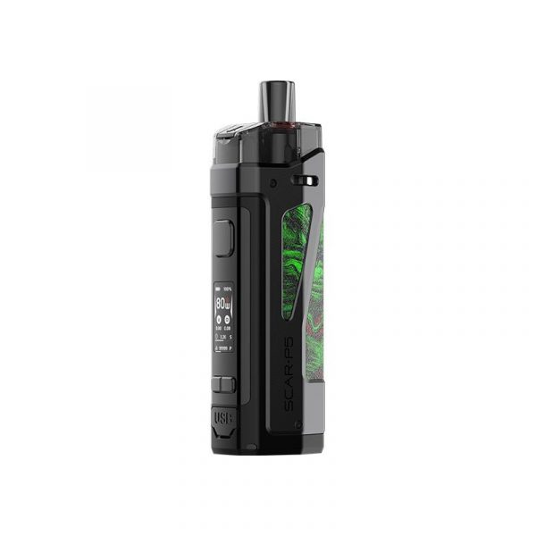 Smok Scar-P5 80w Pod Kit fluid green
